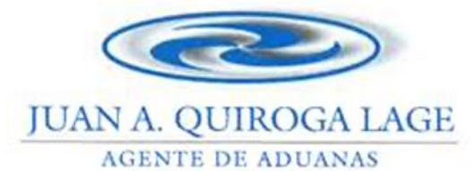 Agente de Aduanas - Juan A Quiroga Lage