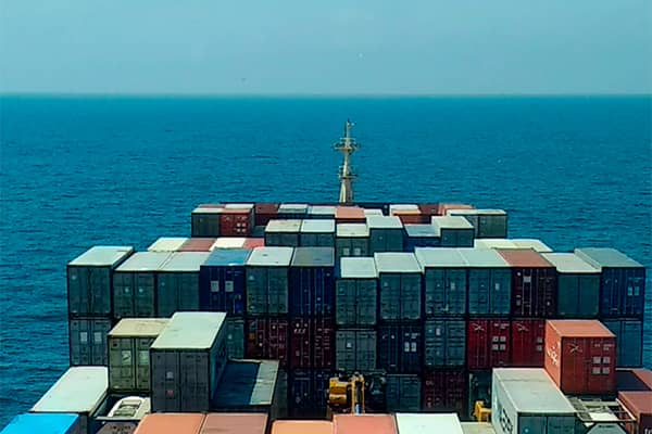 Buque containers Océano